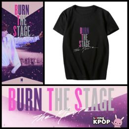 BTS CAMISETA burn the stage - lovingkpop 1