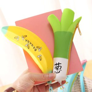 ESTUCHE KAWAII BANANA - AMARILLO